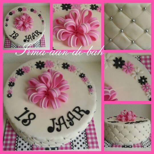 20 jaar taart
